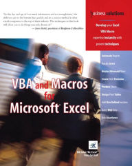 VBA and Macros for Microsoft Excel - Tracy Syrstad