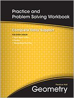 Geometry-All-in-One Student Workbook - Practice and Problem Solving - PRENTICE HALL