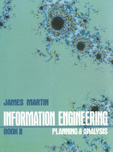 Information Engineering Book II: Planning and Analysis - Martin, James and Martin