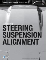 Automotive Steering, Suspension and Alignment