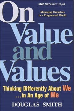 On Value and Values - Smith, Douglas