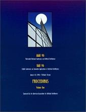 AAAI-96: Proceedings of the Thirteenth National Conference on Artificial Intelligence - AAAI Press / AAAI / American Association on Artificial Intel
