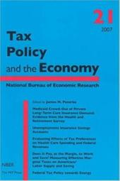 Tax Policy and the Economy - Poterba, James M.