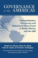 Governance in the Americas - Robert H. Wilson; Peter M. Ward; Peter K. Spink; Victoria E. Rodriguez