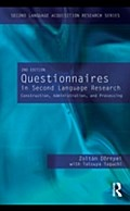 Questionnaires in Second Language Research - Zoltan Dornyei