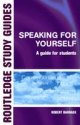 Speaking for Yourself - Robert Barrass