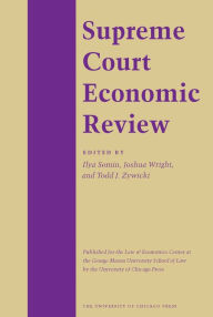 Supreme Court Economic Review - Ernest Gellhorn