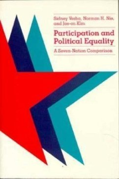 Participation and Political Equality: A Seven-Nation Comparison - Verba, Sidney