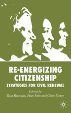 Re-Energizing Citizenship - T. Brannan