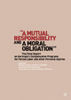 Mutual Responsibility and a Moral Obligation - Gunter Saathoff; Michael Jansen