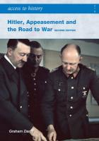 Hitler, Appeasement and the Road to War