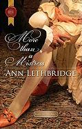More Than a Mistress (Harlequin Historical)
