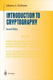 Introduction to Cryptography - Buchmann, Johannes