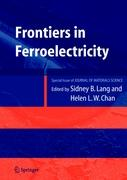Frontiers of Ferroelectricity: A Special Issue of the Journal of Materials Science