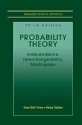 Chow, Yuan Shih;Teicher, Henry: Probability Theory
