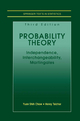 Probability Theory - Yuan Shih Chow; Henry Teicher