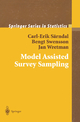 Model Assisted Survey Sampling - Carl-Erik Sarndal; Bengt Swensson; Jan Wretman