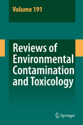 Whitacre, D. M.: Reviews of Environmental Contamination and Toxicology 191