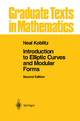 Introduction to Elliptic Curves and Modular Forms - Neal I. Koblitz