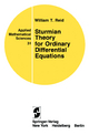 Sturmian Theory for Ordinary Differential Equations - William T. Reid
