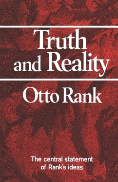 Truth and Reality - Rank, Otto