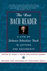 The New Bach Reader - Hans T. David, Arthur Mendel, Christoph Wolff