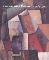 Conservation Research 1996/1997