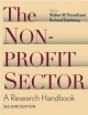The Nonprofit Sector - Walter W. Powell; Richard Steinberg