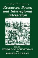 Resources, Power and Interregional Interaction