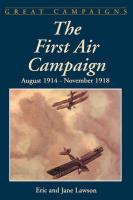 The First Air Campaign: August 1914- November 1918