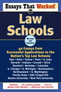 Essays That Worked for Law Schools (Revised) - Boykin Curry, Brian Kasbar