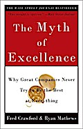 The Myth of Excellence - Fred Crawford
