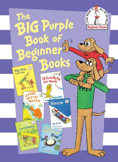 Big Purple Book of Beginner Books - Dr. Seuss