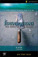 Foundations: God: Small Group Study