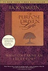 The Purpose Driven Life: What on Earth Am I Here For? - Warren, Rick