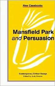 Mansfield Park And Persuasion - Judy Simons (Editor)