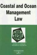 Coastal and Ocean Management Law in a Nutshell