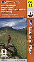 Brecon Beacons National Park: Western and Central areas 1 : 25 000