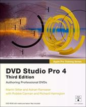 DVD Studio Pro 4 [With DVD ROM and Access Code] - Sitter, Martin / Ramseier, Adrian / Carman, Robbie