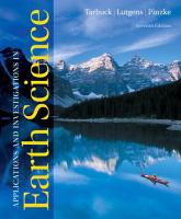 Applications and Investigations in Earth Science (7th Edition)