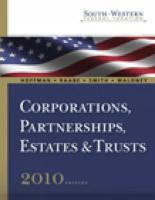 Corporations, Partnerships, Estates & Trusts