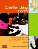Code-Switching Lessons: Grammar Strategies for Linguistically Diverse Writers