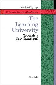 Learning University: Towards a New Paradigm? - Chris Duke