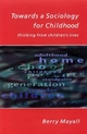 Towards a Sociology for Childhood - Berry Mayall