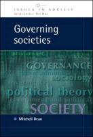 Governing Societies: Political Perspectives on Domestic and International Rule