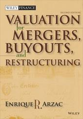 Valuation for Mergers, Buyouts, and Restructuring [With CDROM] - Arzac, Enrique R.