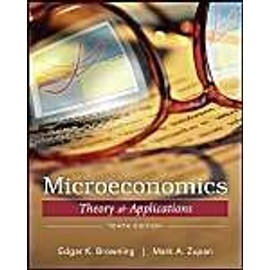 Microeconomic Theory&Applications - Edgar K. Browning