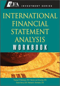 International Financial Statement Analysis Workbook - Thomas R. Robinson