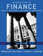 Introduction to Finance: Markets, Investments, and Financial Management - Melicher, Ronald W. / Norton, Edgar A.