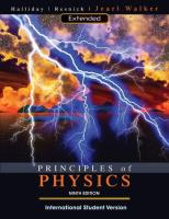 Principles of Physics, Extended, International Student Version